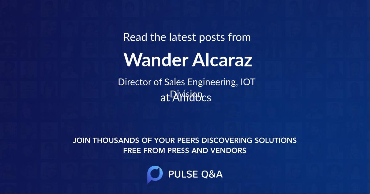 Wander Alcaraz