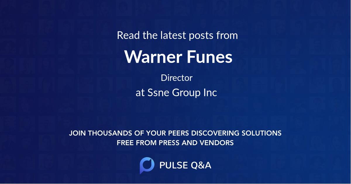 Warner Funes
