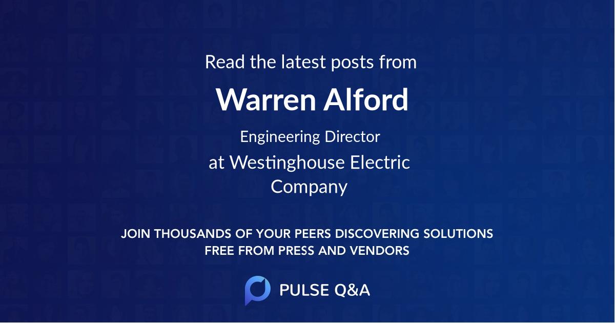 Warren Alford