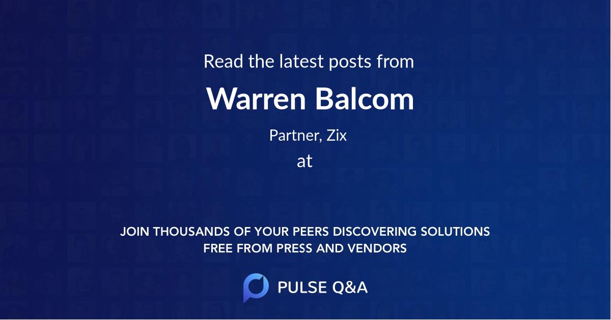 Warren Balcom