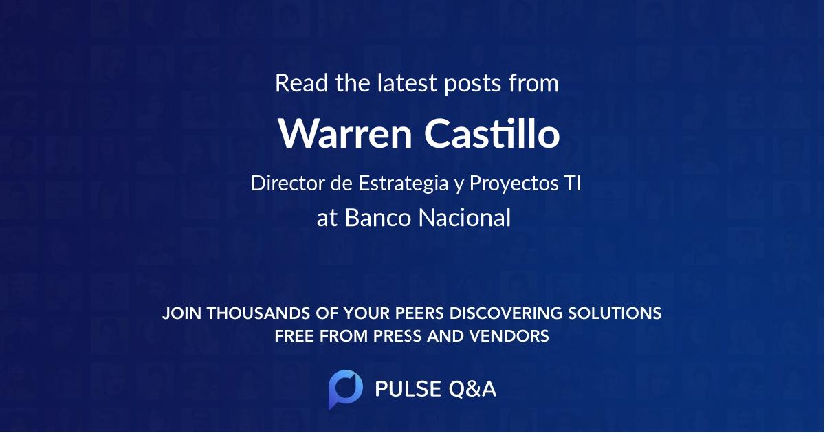 Warren Castillo