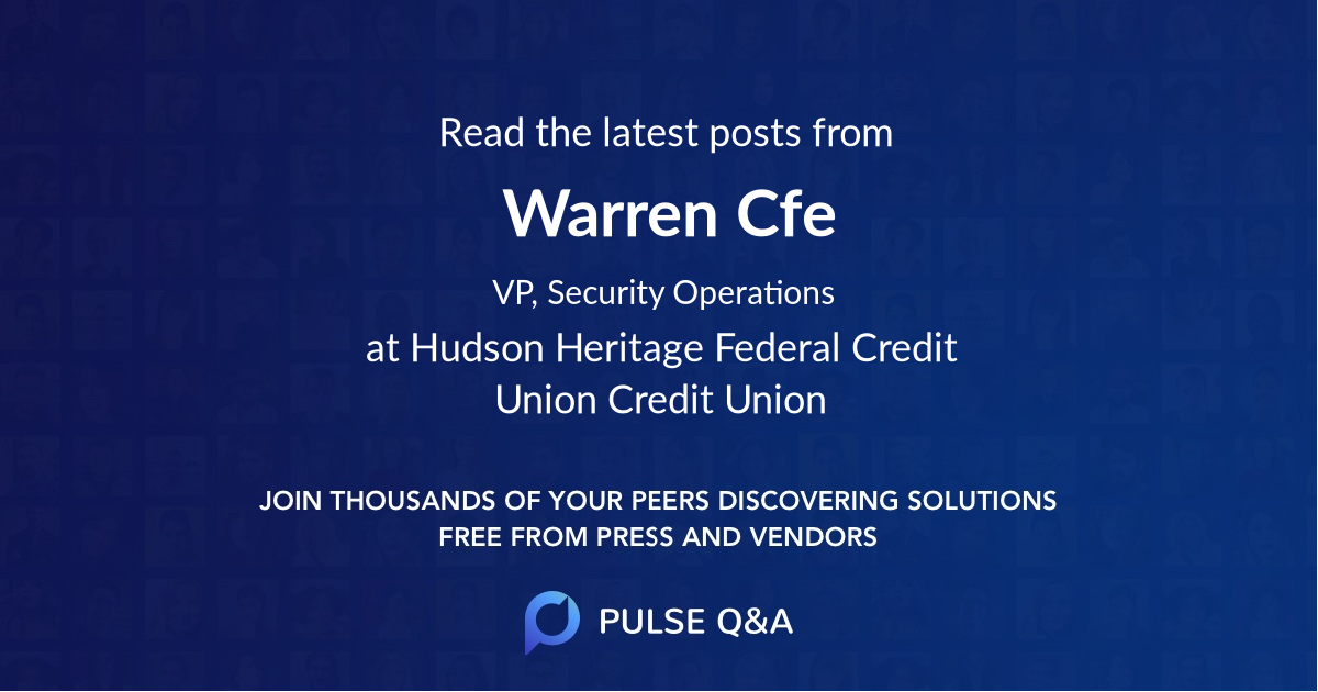 Warren Cfe