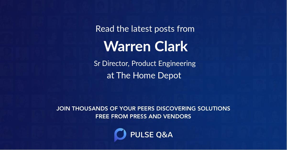 Warren Clark