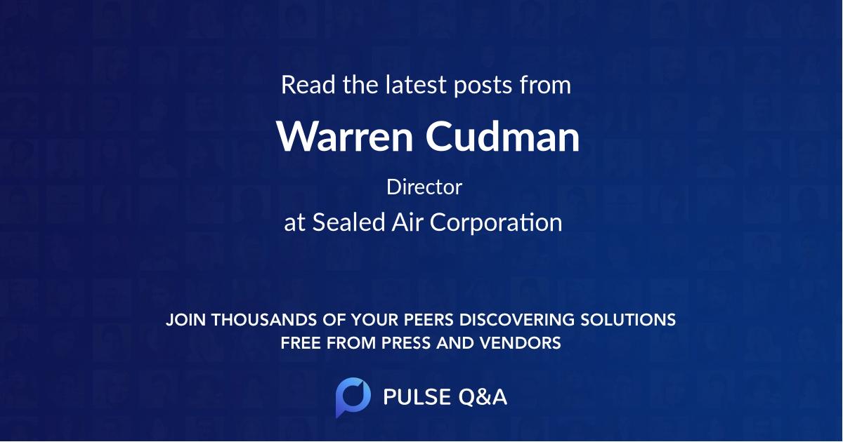 Warren Cudman