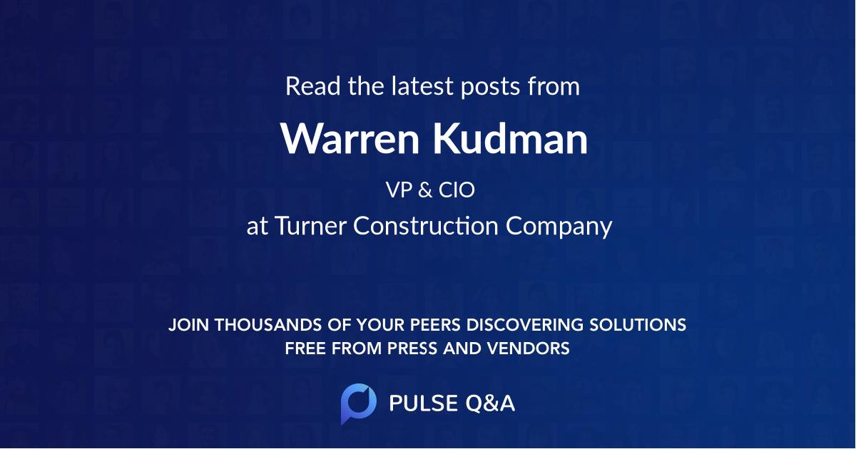 Warren Kudman
