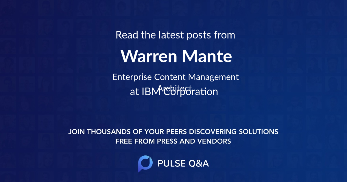 Warren Mante