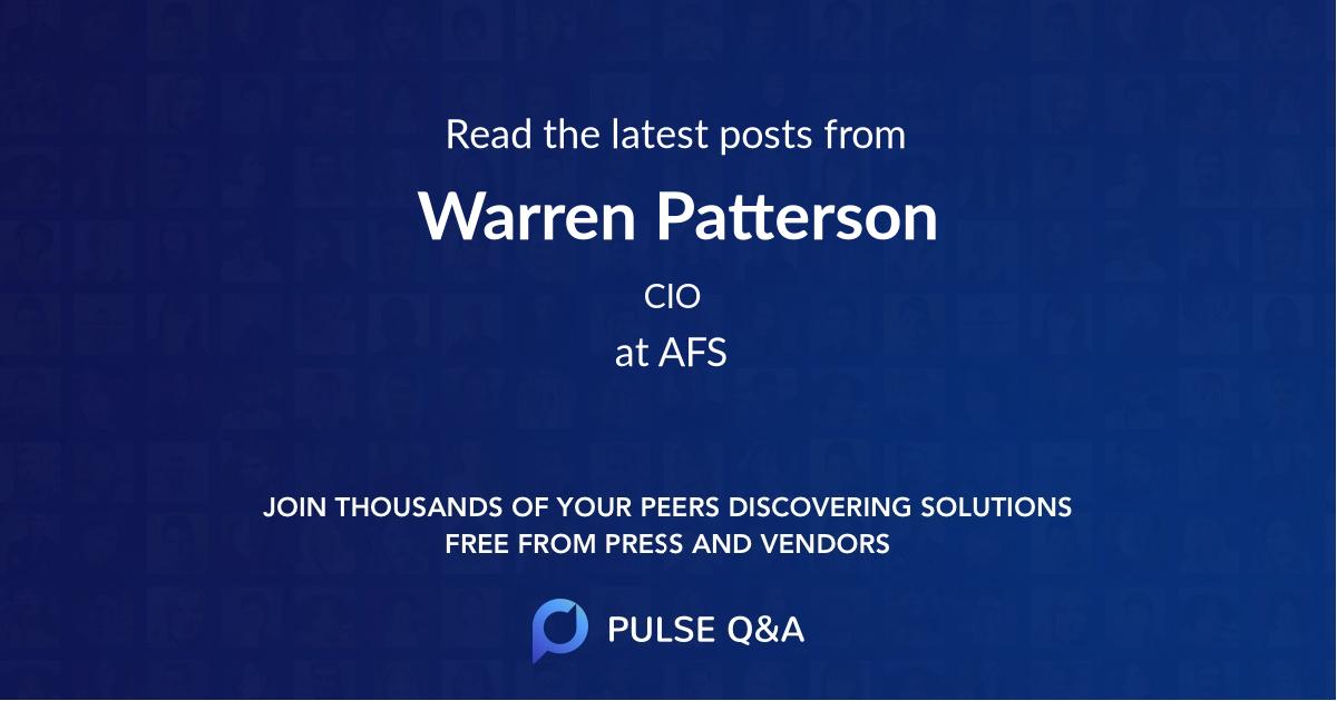 Warren Patterson