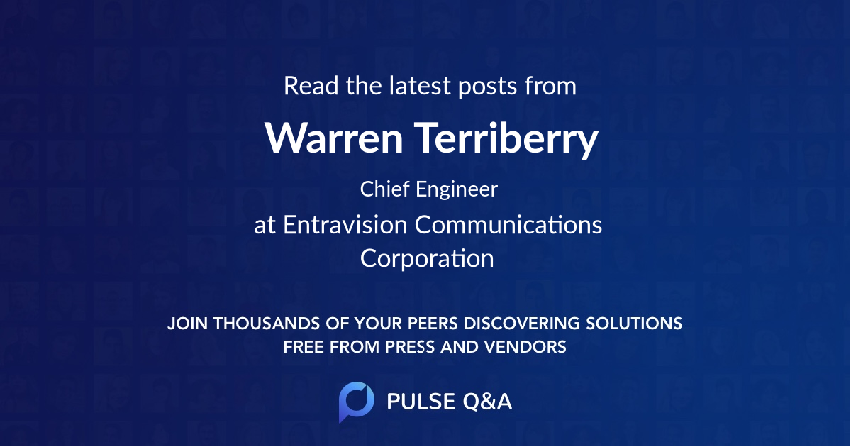 Warren Terriberry
