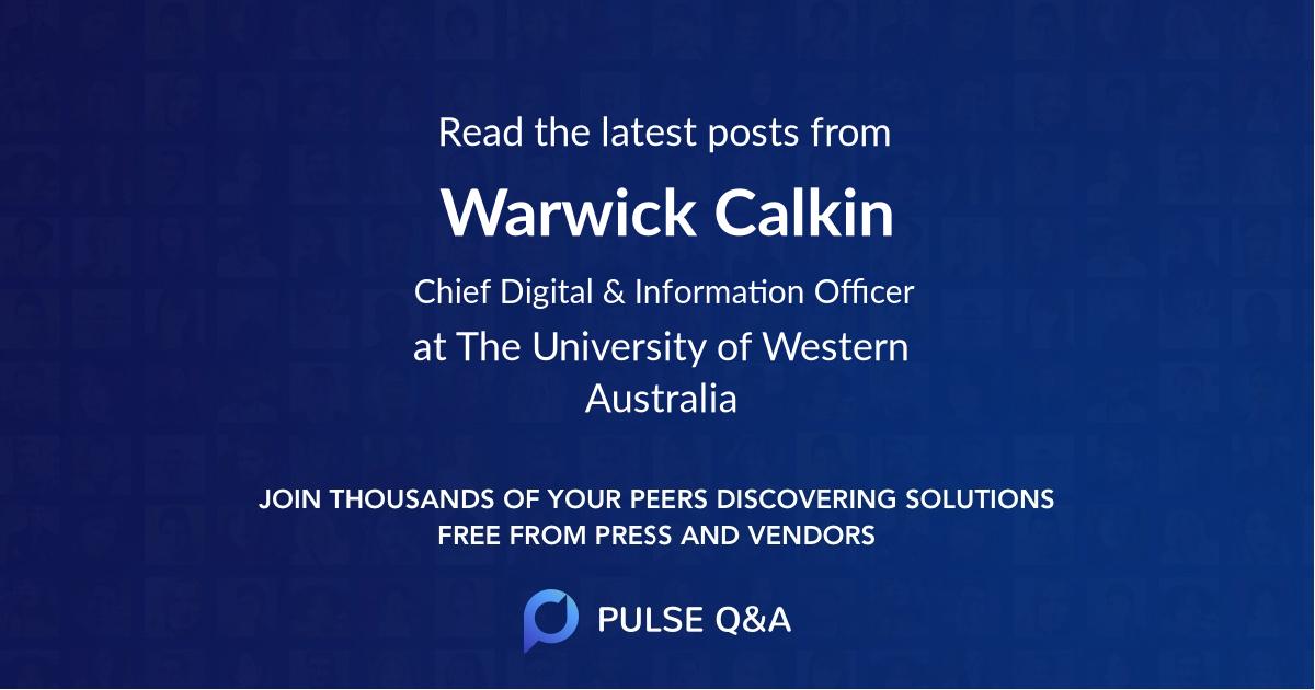 Warwick Calkin