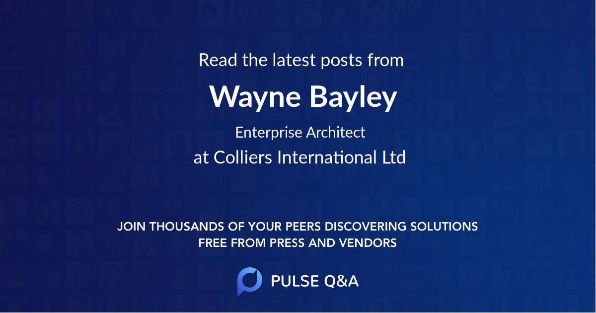 Wayne Bayley