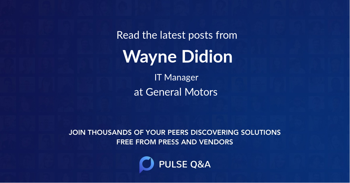 Wayne Didion