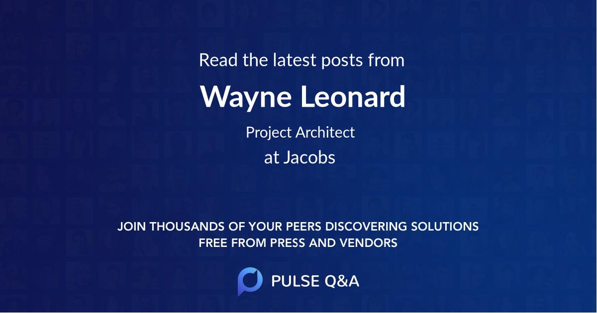 Wayne Leonard
