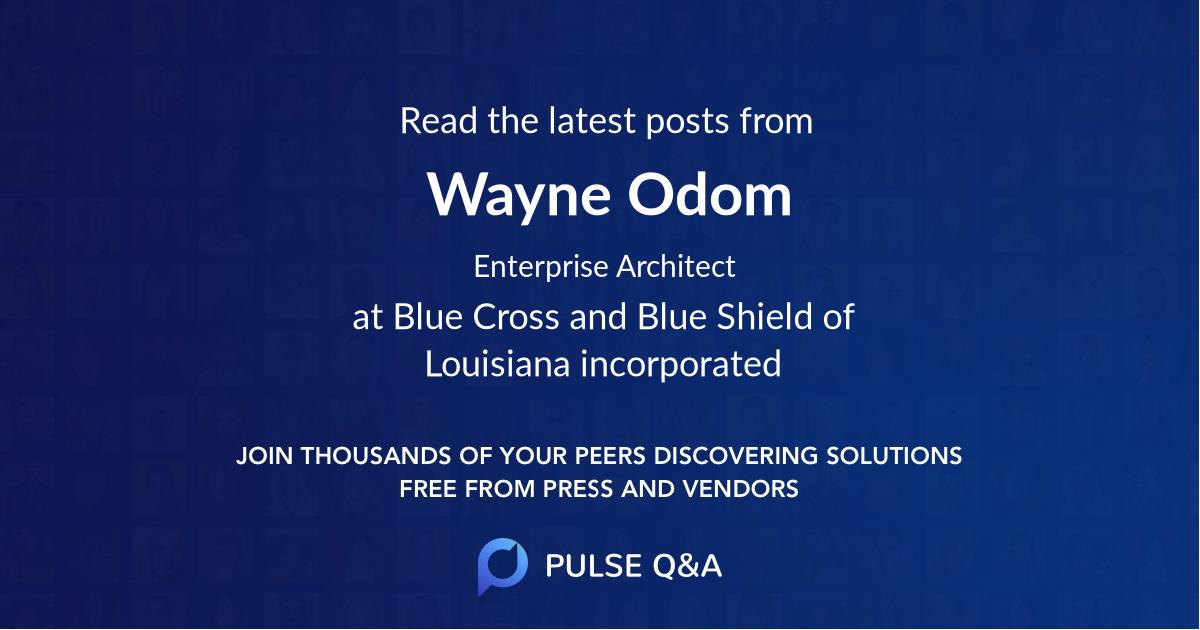 Wayne Odom
