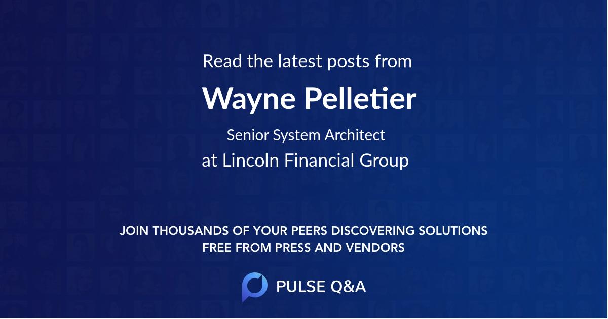 Wayne Pelletier