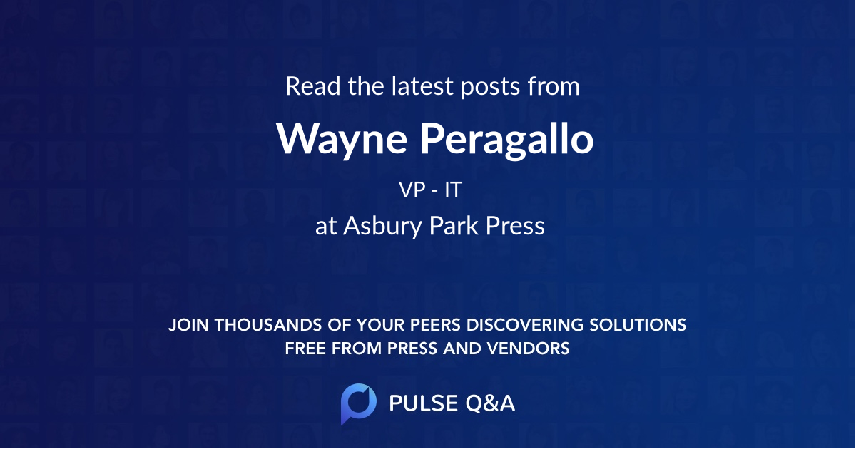 Wayne Peragallo