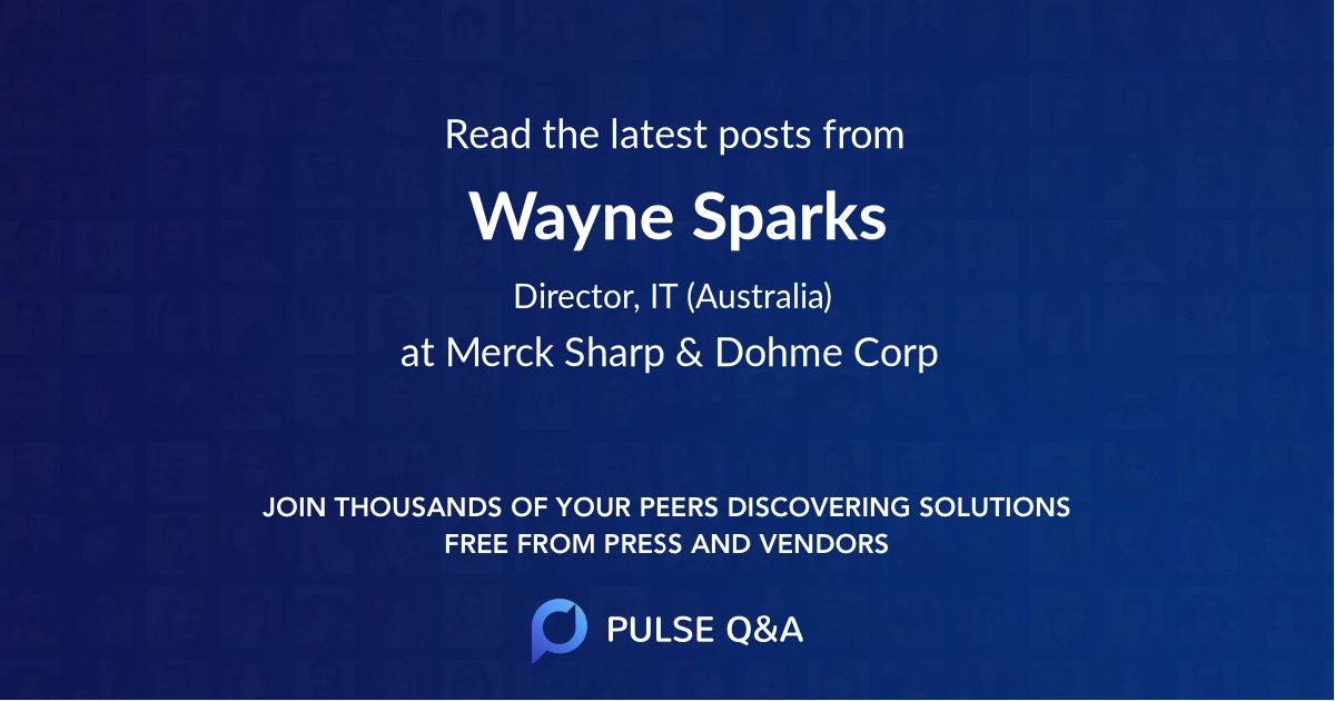 Wayne Sparks