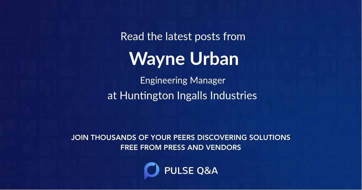 Wayne Urban