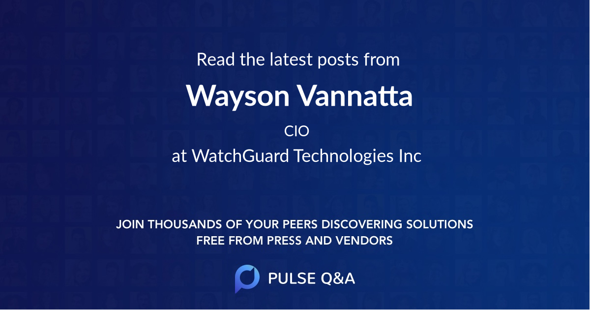 Wayson Vannatta