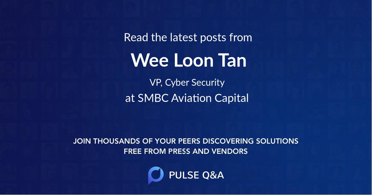 Wee Loon Tan
