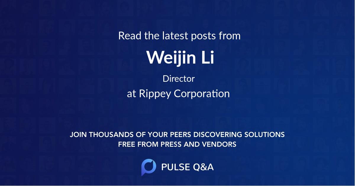 Weijin Li