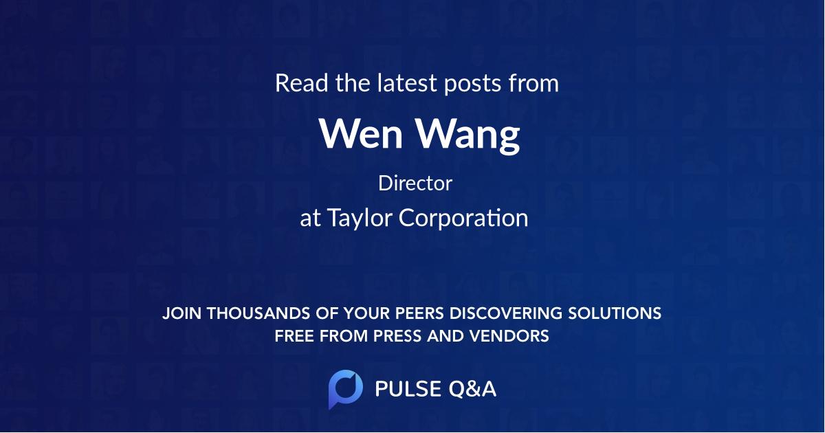 Wen Wang