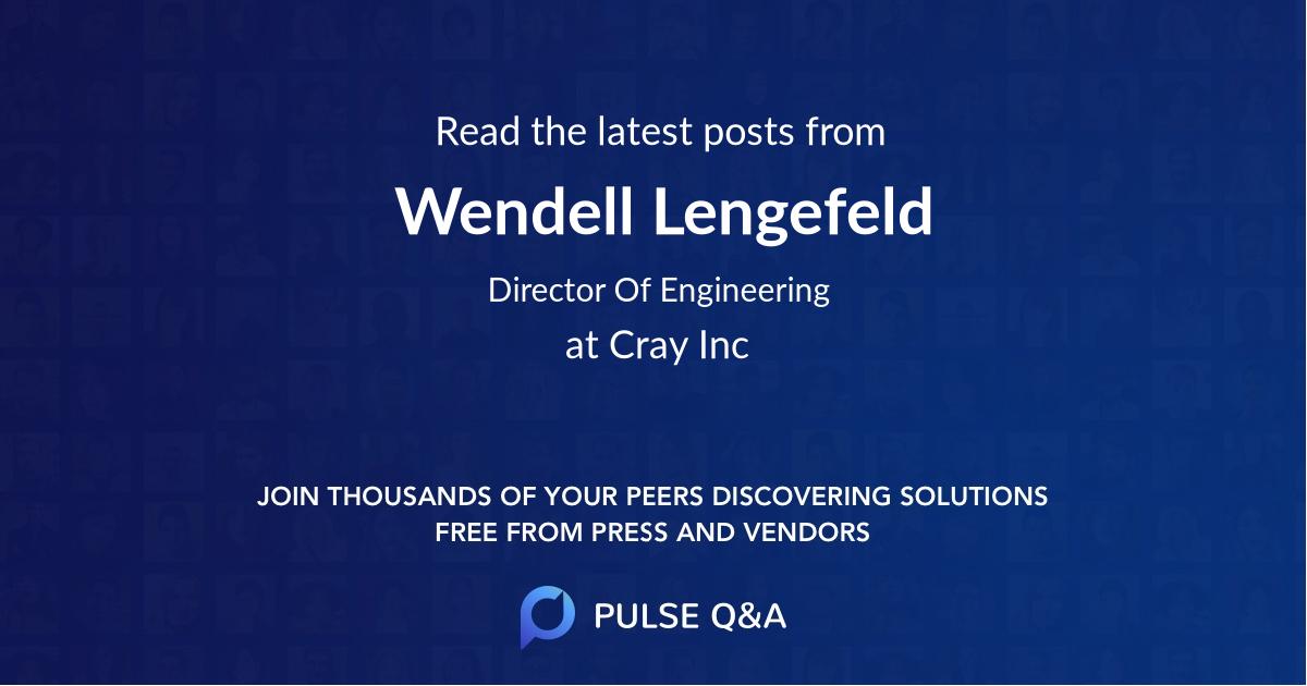 Wendell Lengefeld