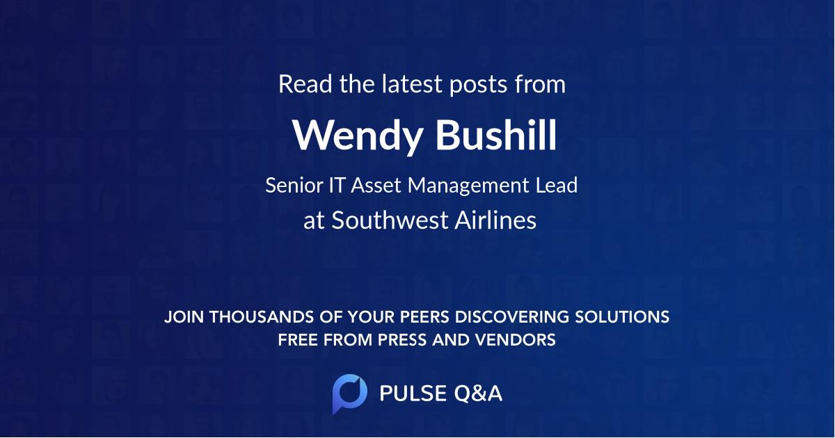 Wendy Bushill