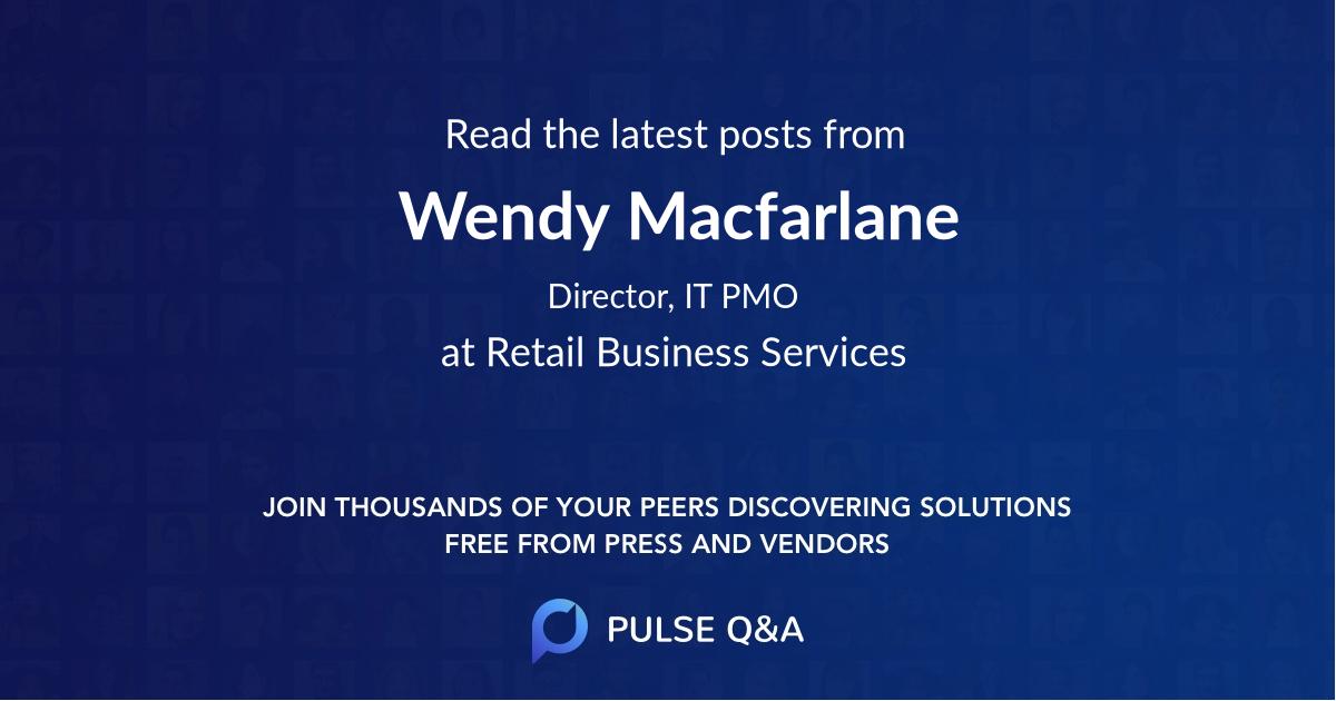 Wendy Macfarlane