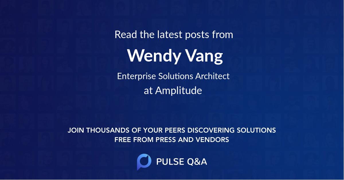 Wendy Vang