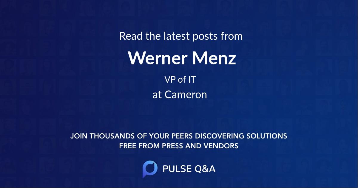 Werner Menz