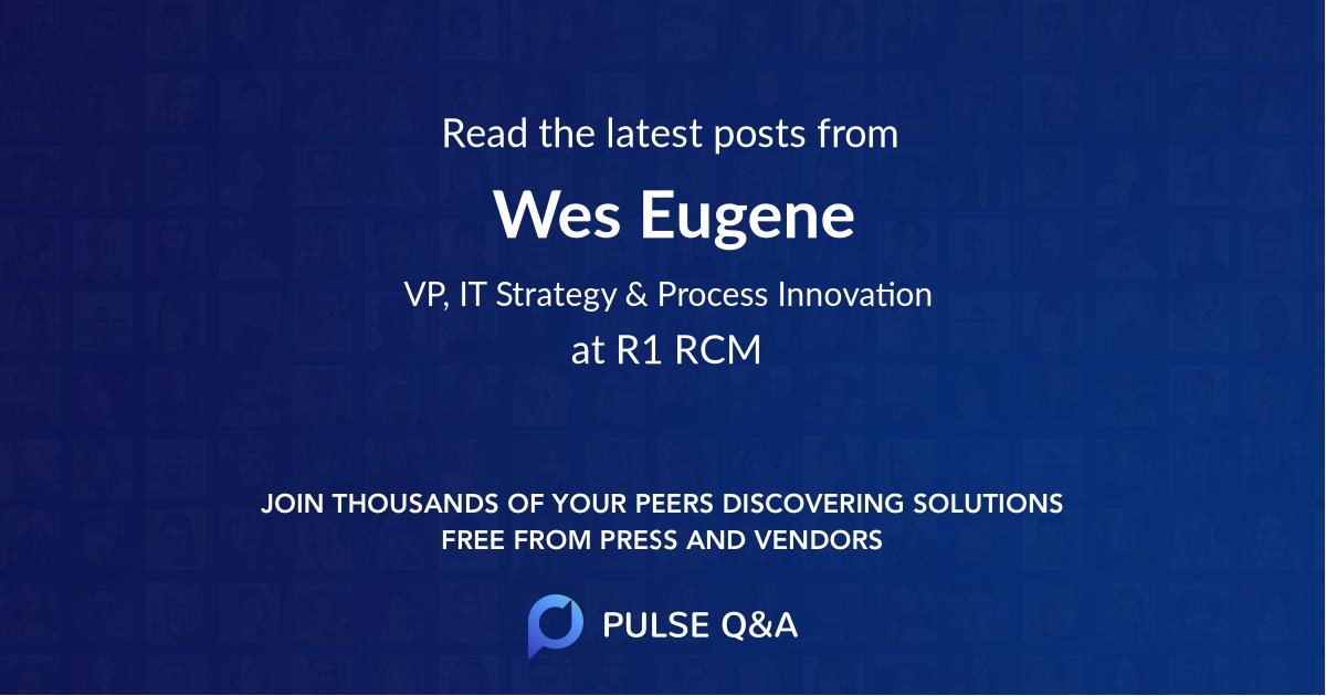 Wes Eugene