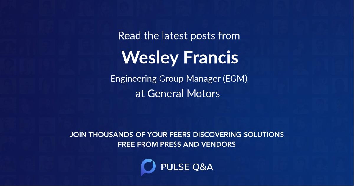 Wesley Francis