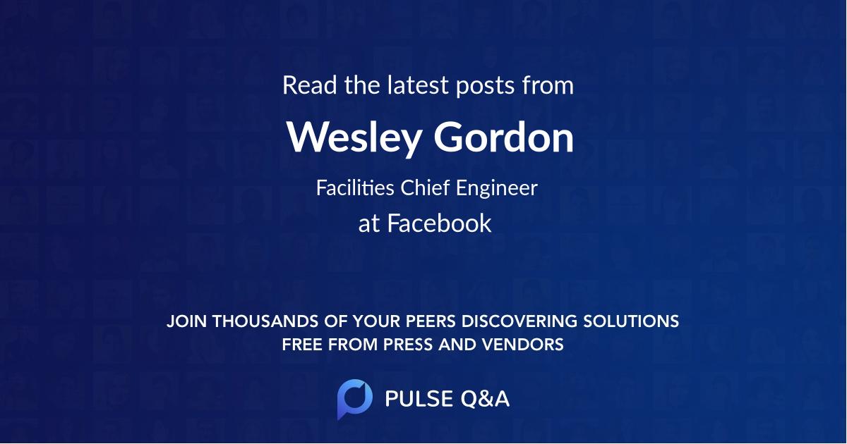 Wesley Gordon