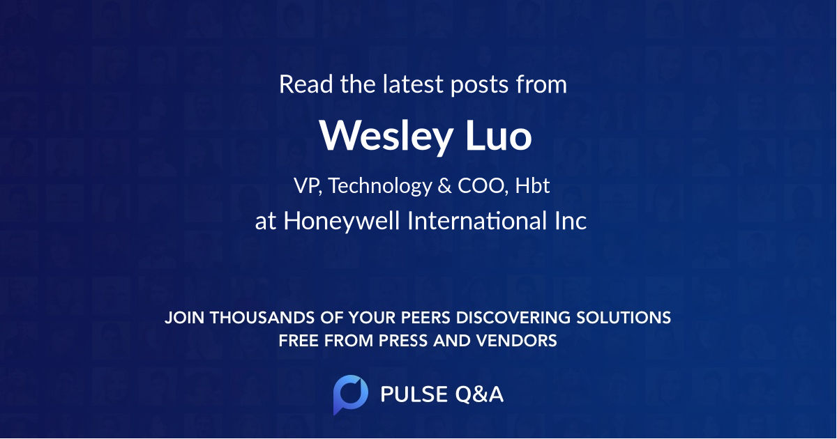 Wesley Luo