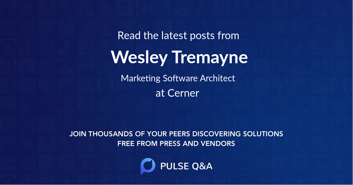 Wesley Tremayne