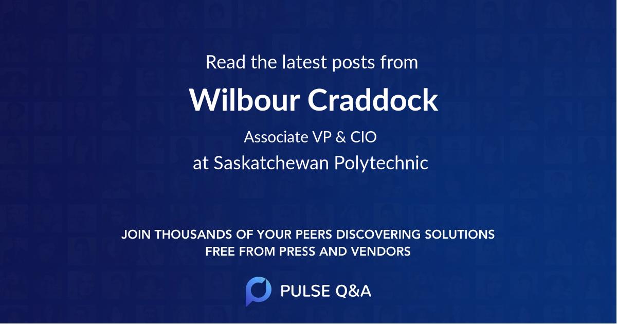 Wilbour Craddock