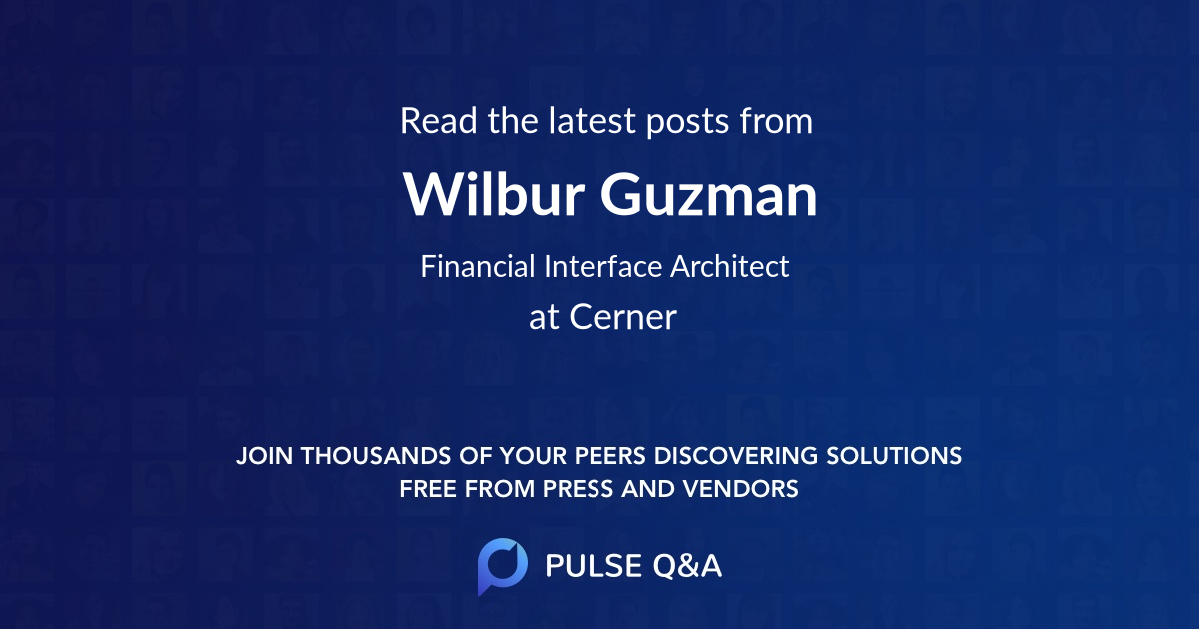 Wilbur Guzman