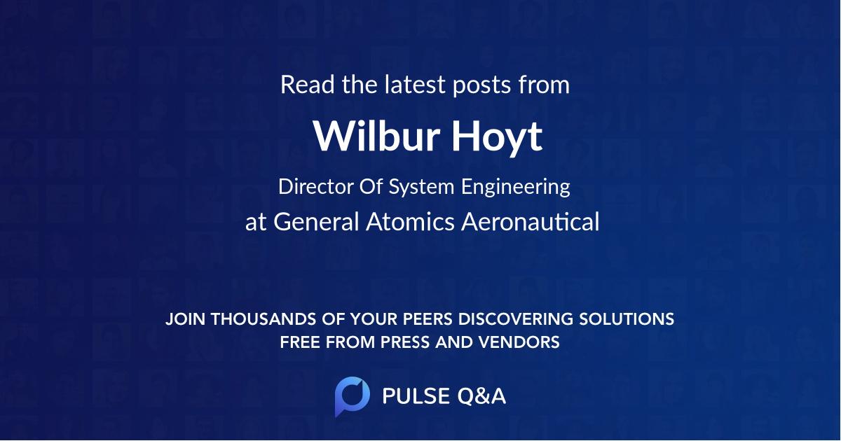 Wilbur Hoyt