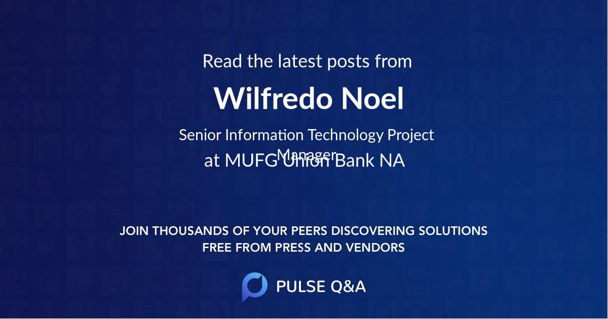 Wilfredo Noel