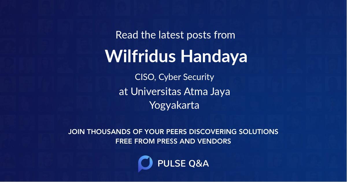Wilfridus Handaya