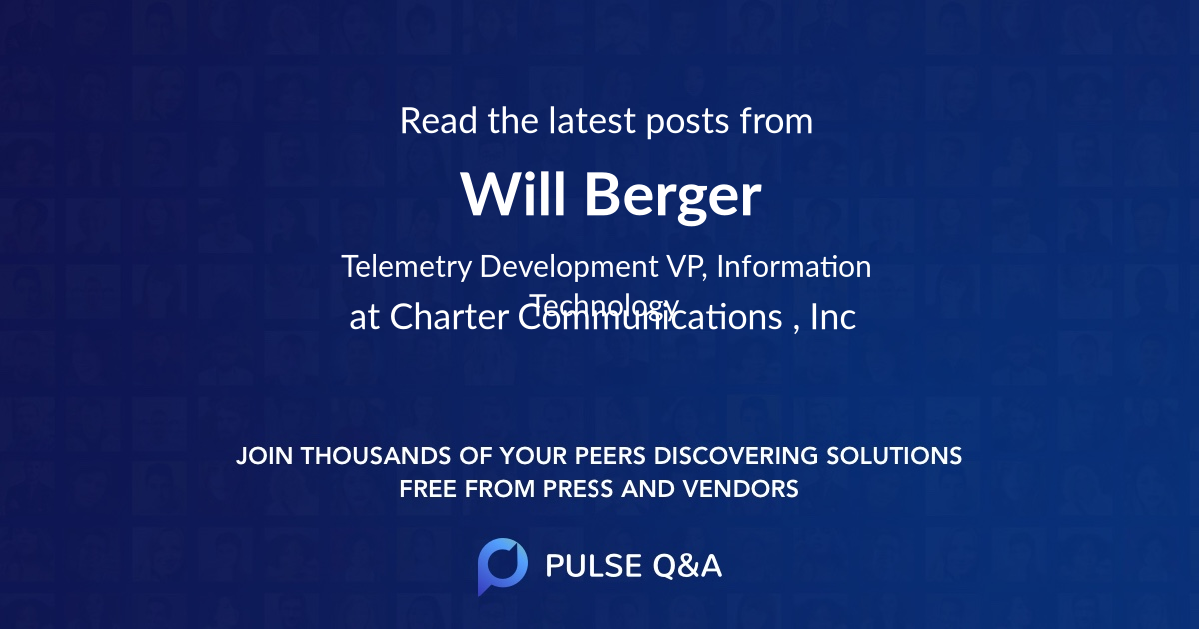 Will Berger