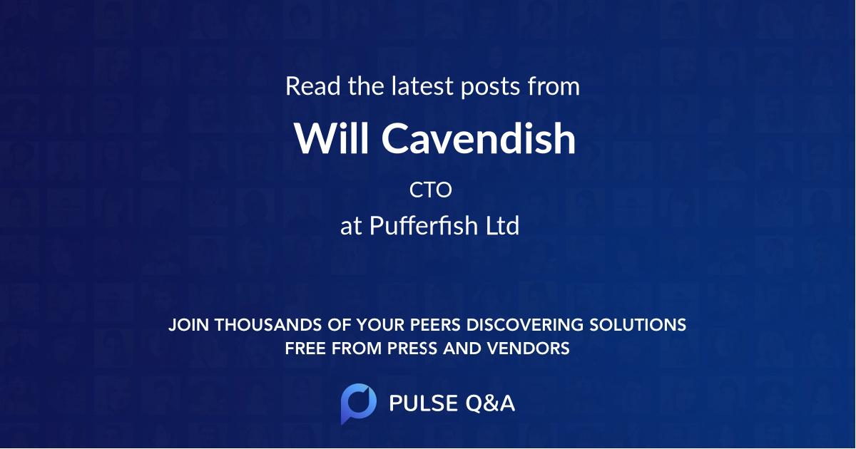 Will Cavendish