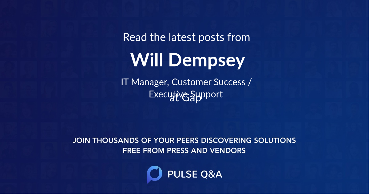 Will Dempsey
