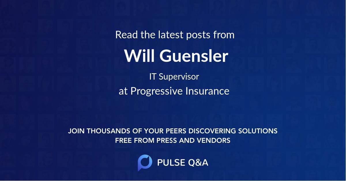 Will Guensler