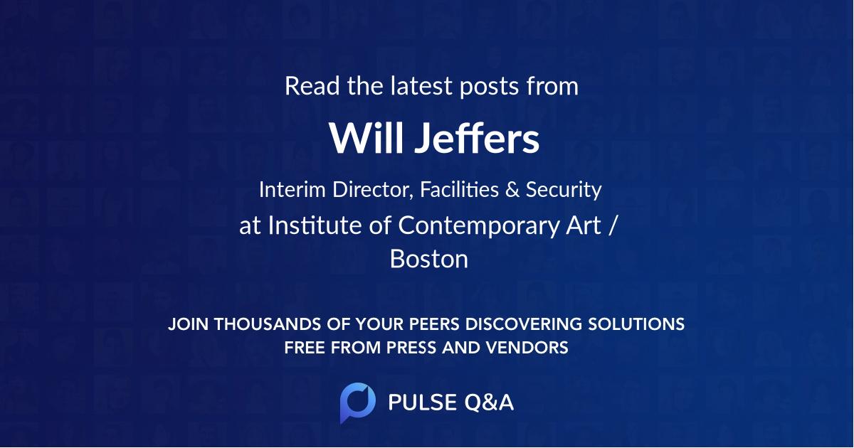 Will Jeffers