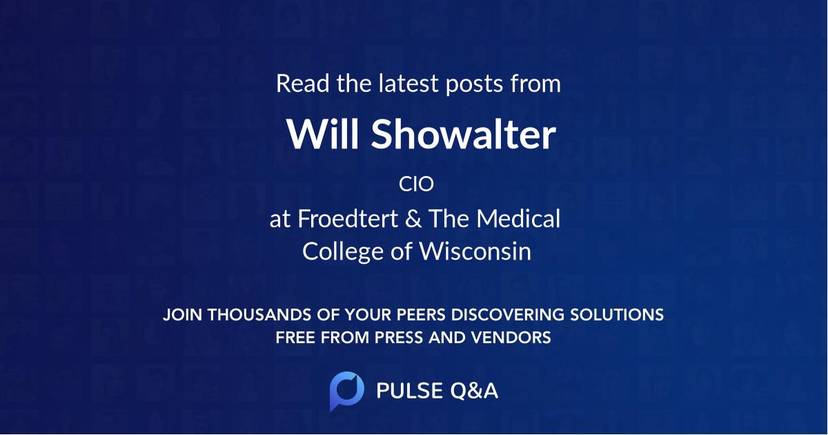 Will Showalter
