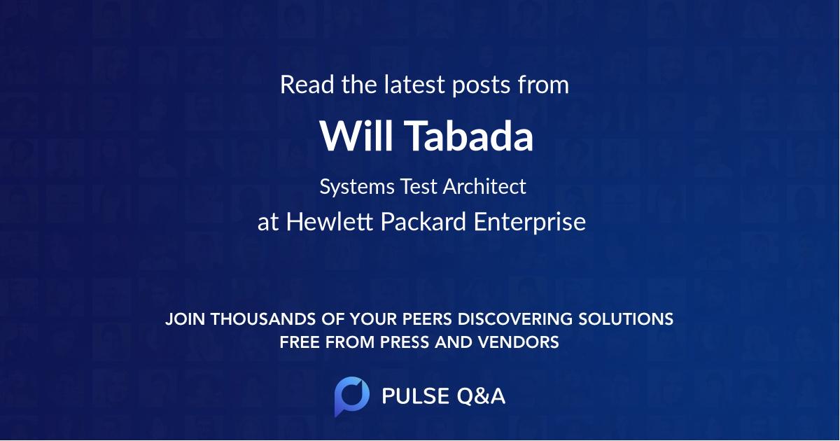 Will Tabada