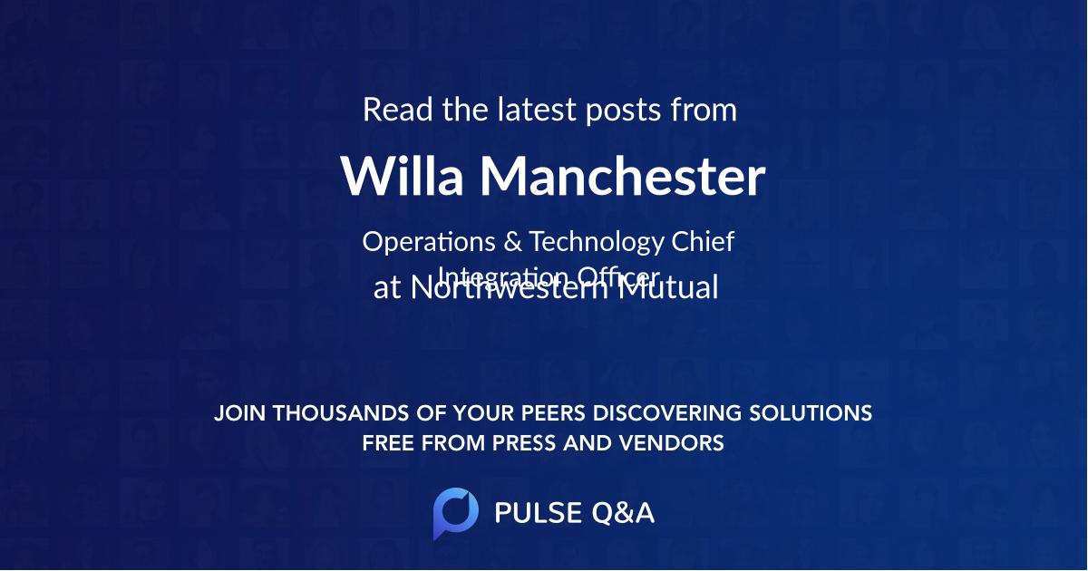 Willa Manchester