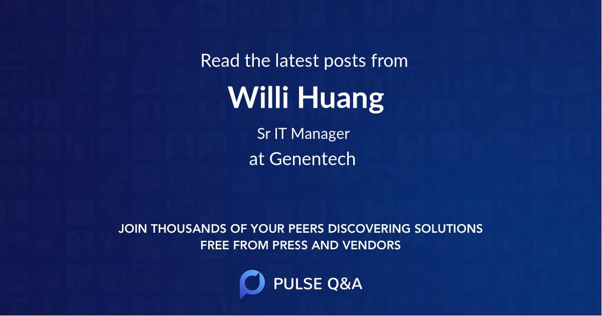 Willi Huang