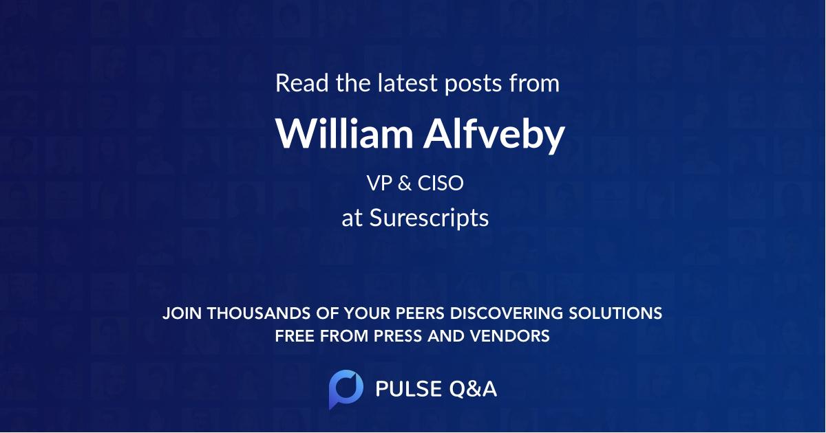 William Alfveby